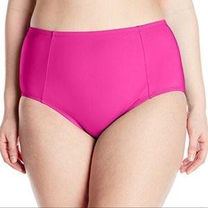 Kenneth Cole Reaction high waist swim bottoms 3X